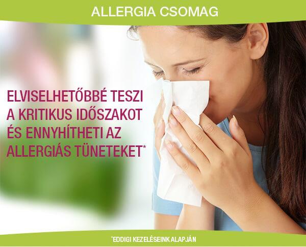 Allergiás lány Sensolite kezelésre vár