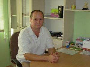Dr Veszter Béla manuálterapeuta fényképe
